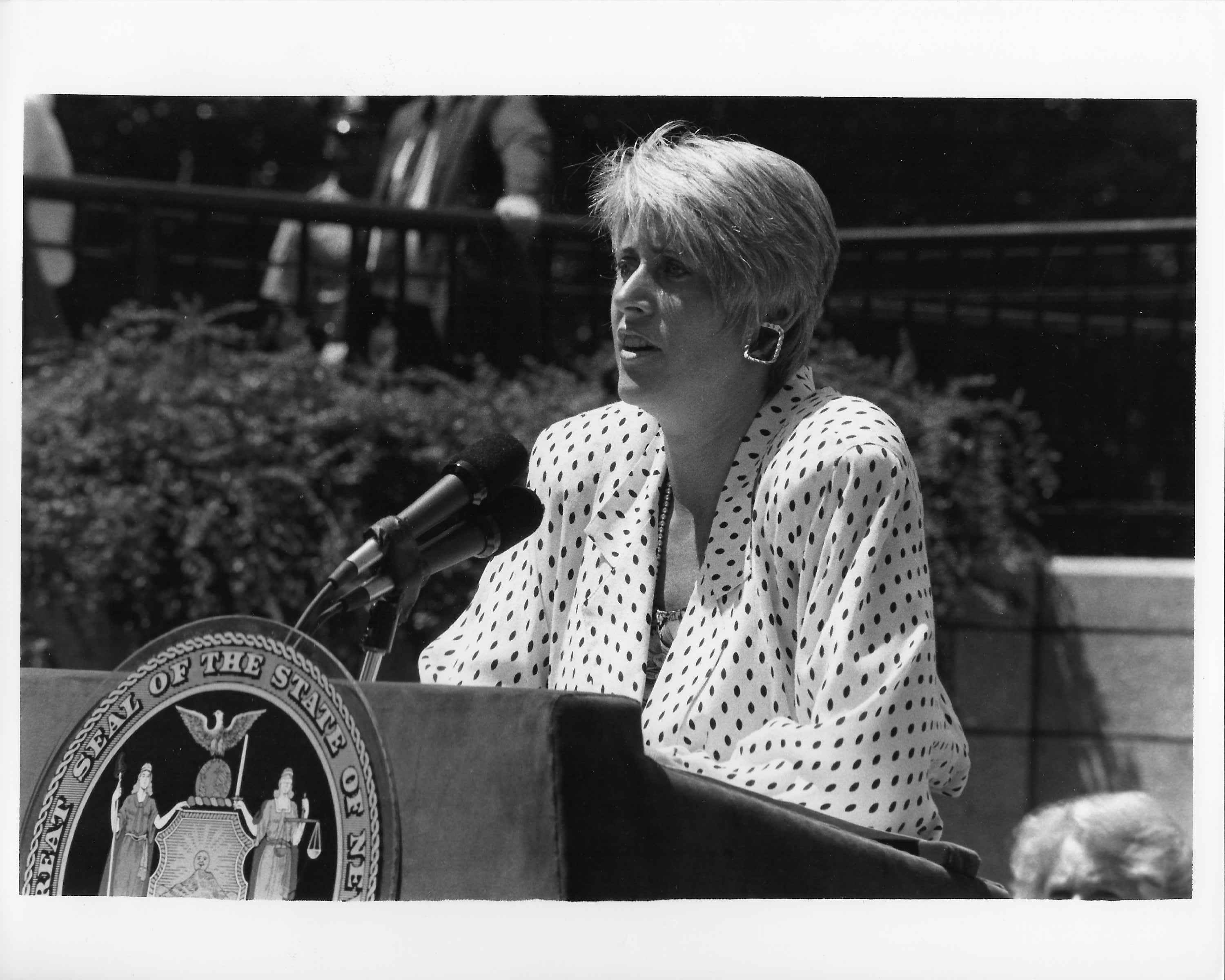 Mary Beth, Police memorial in Albany